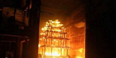 Photo of বহু প্রাচীন লক্ষ্মী নরসিংহ স্বামী মন্দিরের প্রাচীন রথ পুড়িয়ে দেওয়ার অভিযোগ