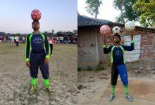 Photo of ফুটবল জাগলিংয়ে বিশ্বরেকর্ড, তবুও চাকরি জোটেনি পাঁশকুড়ার মনোজের