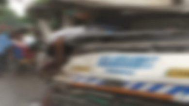 Photo of কাঁকসায় ম্যাটাডোর-লরির ধাক্কা মৃত চালক