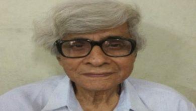 Photo of করোনাযুদ্ধে প্রয়াত বিশিষ্ট শিক্ষাবিদ-সমুদ্রবিজ্ঞানী আনন্দদেব মুখোপাধ্যায়