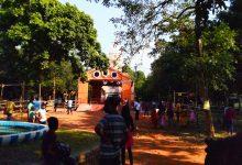 Photo of জামবনির চিলকিগড়ে কনকদুর্গার মন্দিরে সামাজিক দূরত্ব মেনে পুজো দিলেন সকলেই