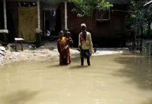 Photo of বিপদসীমার উপর দিয়ে বইছে মহানন্দা নদীর জল
