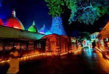 Photo of শারদীয়া নবরাত্রি উপলক্ষে আলোর রোশনাইয়ে শক্তিপিঠ কামাখ্যা