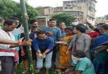 Photo of সম্প্রীতির বাতাবরণকে সামনে রেখে ধাত্রীগ্রামে খুঁটিপুজো